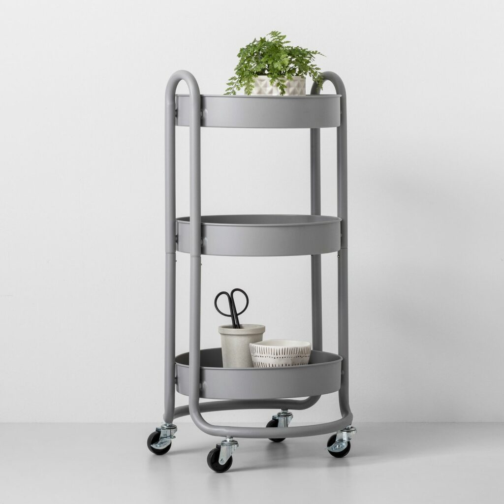 Round utility cart for houseplants at Target